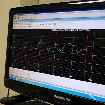 Biokinetics Candice Attree Cybex Monitor